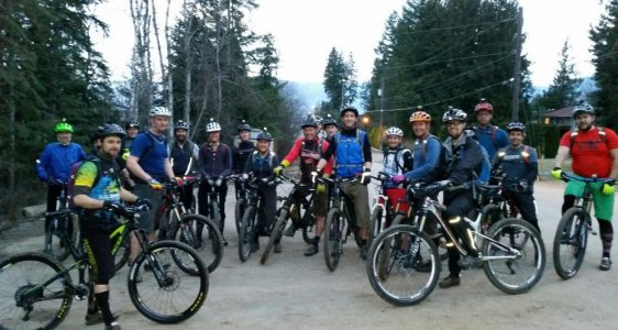 Skookum group rides have started! (2016)